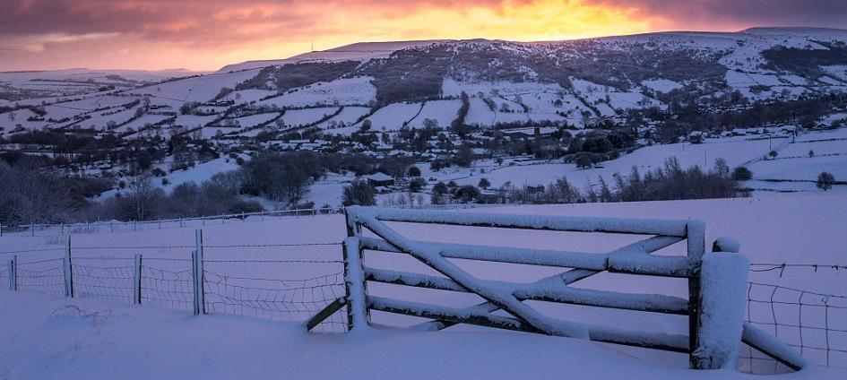 derbyshire winter