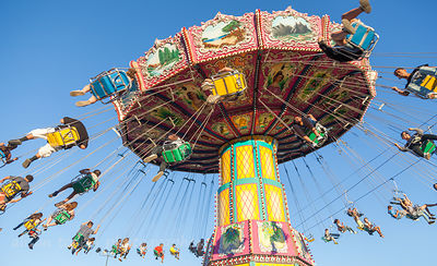 Tradional fairground ride