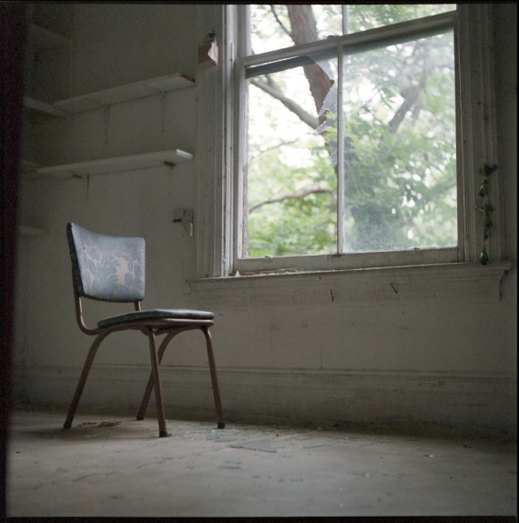 chair at window
