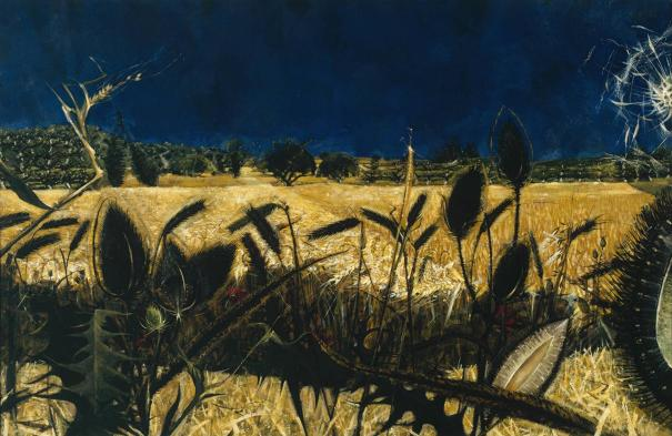 Summer: Young September's Cornfield 1954 by Alan Reynolds 1926-2014