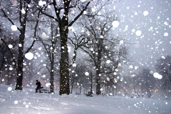 snowflurries